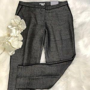 H&M SHINY GRAY FANCY PANTS